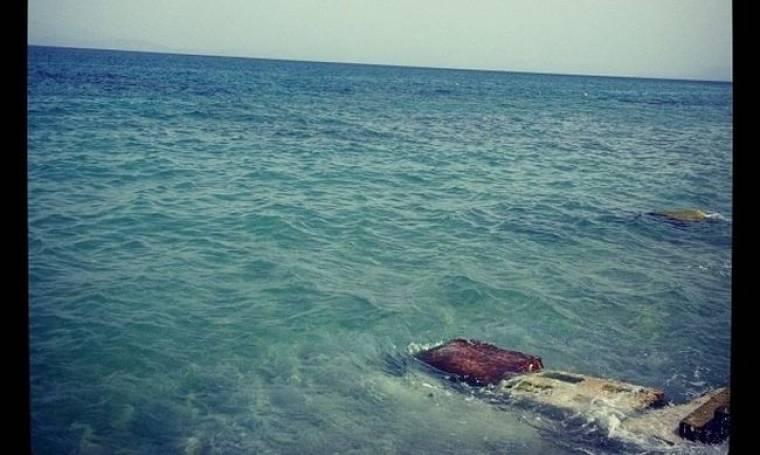 Ποιος βρέθηκε σ' αυτή την παραλία;