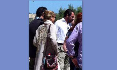Οι βόλτες του Νικόλαου και της Τατιάνας στην Κνωσό (Αποκλειστικά στο Tsimtsilicious)