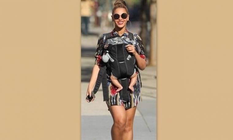 Beyonce: Ευτυχισμένη μαμά (φωτό)