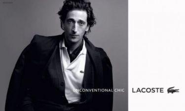 Η Lacoste χρίζει τον Adrien Brody ως τον πιο «Αντισυμβατικά Σικ» άντρα