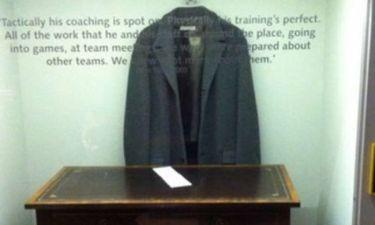 To παλτό του Μουρίνιο σε…  μουσείο