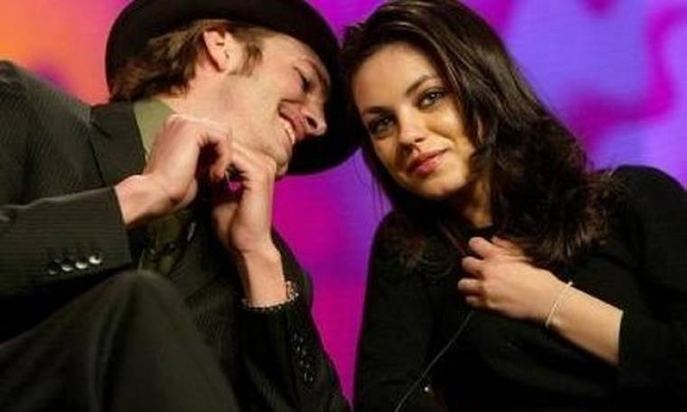 Mila Kunis: Δεν είμαστε ζευγάρι με τον Ashton Kutcher