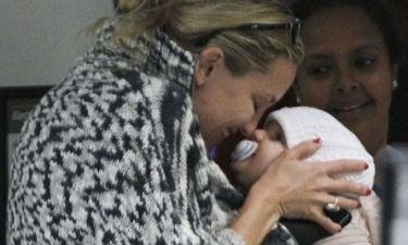 Kate Hudson: Σε τρυφερές στιγμές με το γιο της