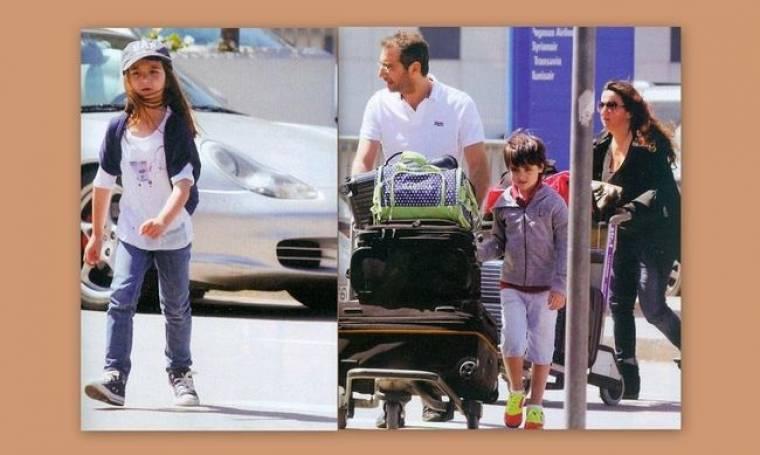 Δημήτρης Κοντόπουλος: Οικογενειακές διακοπές