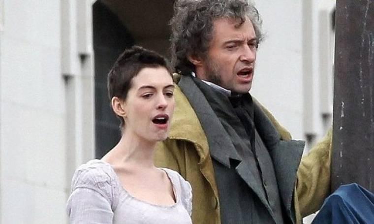Anne Hathaway – Hugh Jackman: Γυρίζοντας το Les Miserables