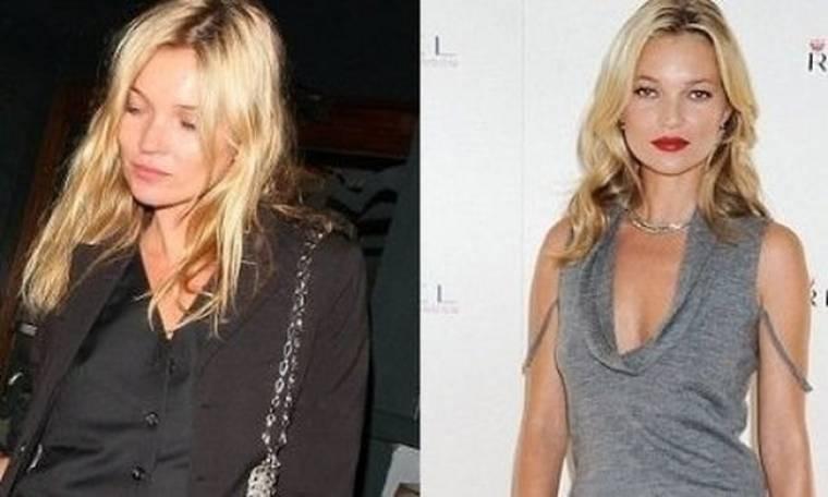 Lip-gloss ή κραγιόν; Η Kate Moss επιλέγει