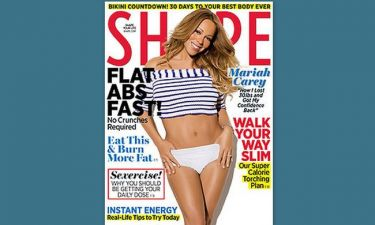 Η Mariah Carey στο περιοδικό Shape