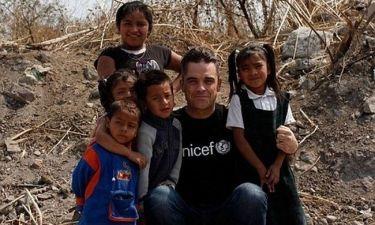 Ο Robbie Williams… προπονείται για να γίνει μπαμπάς