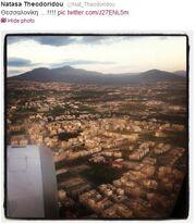 Ποια τραγουδίστρια βγάζει αεροφωτογραφίες; (φωτό)