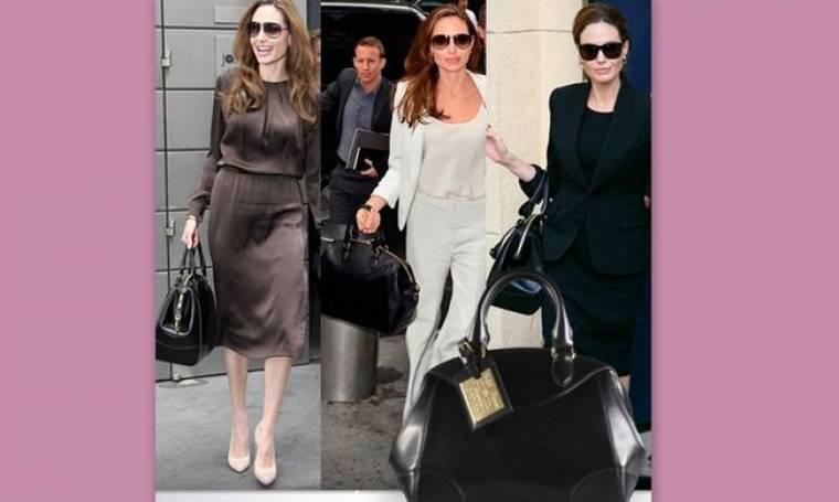 Ποια είναι η τσάντα- φετίχ της Angelina Jolie;