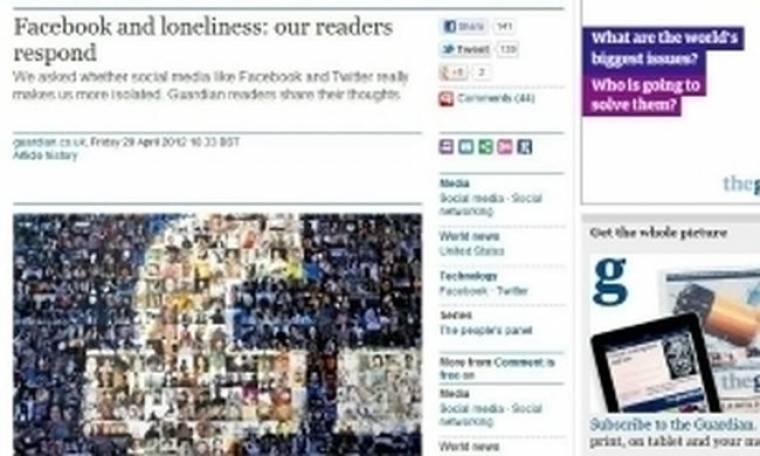Guardian: Τελικά το Facebook μας απομονώνει;