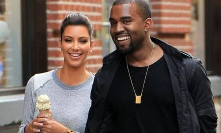 Kanye και Kim: Βόλτα για παγωτό