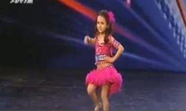 """Η πεντάχρονη που μάγεψε το """"Ελλάδα έχεις ταλέντο"""" με τις χορευτικές ικανότητές της!"""