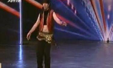 «Ελλάδα έχεις ταλέντο»: Ο ελαιοχρωματιστής και η κοιλιά του χορού!