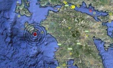 Σεισμός 3,9 Ρίχτερ νότια της Ζακύνθου