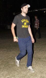 Ο Robert Pattinson και η Kristen Stewart μαζί στο Coachella