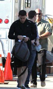 Jude Law και Channing Tatum στα πλατό της ταινίας τους