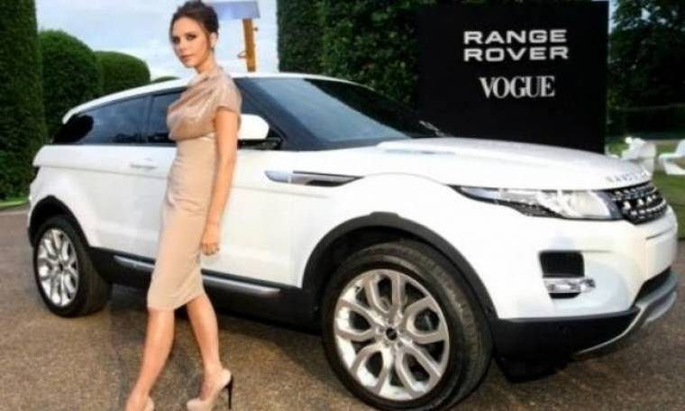 Νέο Range Rover με την υπογραφή της Βικτόρια Μπέκαμ