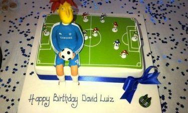 Η τούρτα γενεθλίων του Νταβίντ Λουίς