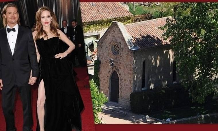 Αυτό είναι το εκκλησάκι όπου θα παντρευτούν οι Pitt-Jolie;