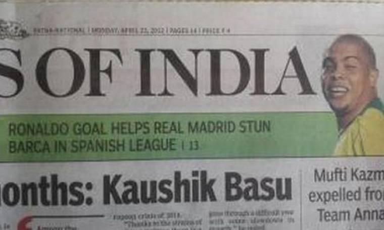 Μπέρδεψαν τους… Ρονάλντο στην Ινδία
