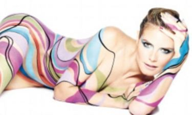 Η Heidi Klum φωτογραφίζεται και πάλι… γυμνή