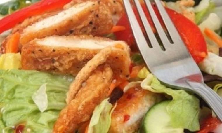 Ασιατική σαλάτα με κοτόπουλο