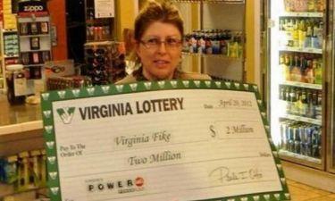 Κέρδισε δύο λαχεία σε μία κλήρωση!