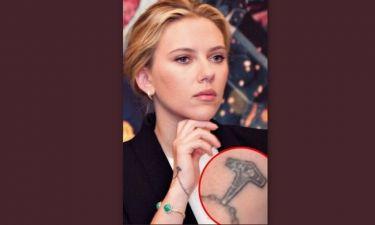 Το νέο τατουάζ της Scarlett Johansson