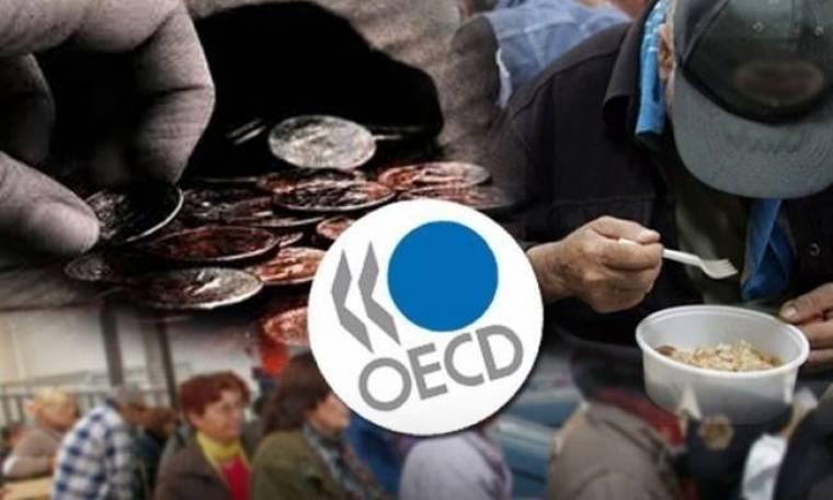 ΟΟΣΑ: Οι Έλληνες έγιναν φτωχότεροι κατά 25%