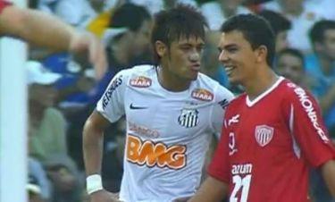Ο Νεϊμάρ στέλνει… φιλιά σε αντίπαλό του!