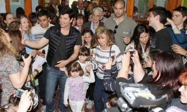 Ο Σάκης Ρουβάς έγινε και πάλι παιδί! (Αποκλειστικά στο G-North και στο gossip-tv.gr)