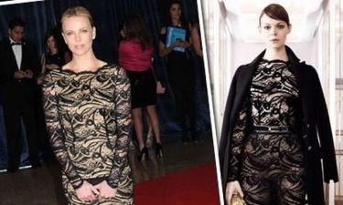Charlize Theron: Δαντέλα στο φουλ