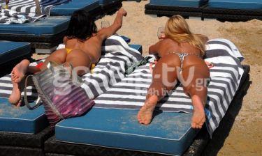 Κορίτσια στον ήλιο!