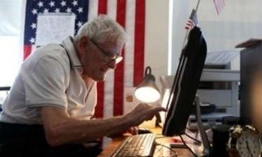 Παππούς 92 ετών, ένας από τους μεγαλύτερους πειρατές του internet!