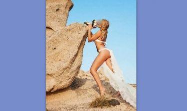 Απίστευτο: Ελληνίδα μοντέλα παντρεύτηκε φορώντας απλά στρινγκ και βέλο! (Nassos blog)