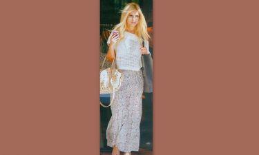 Κατερίνα Καινούργιου: Όμορφη και λαμπερή για ψώνια