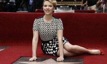 Ένα αστέρι για τη Scarlett Johansson