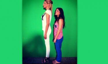 Σταμάτη-Συνατσάκη: Η ψηλή και η κοντή!