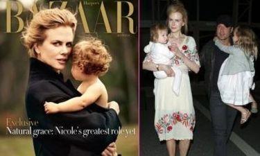 Η Nicole Kidman με την Faith στο Harper's Bazaar