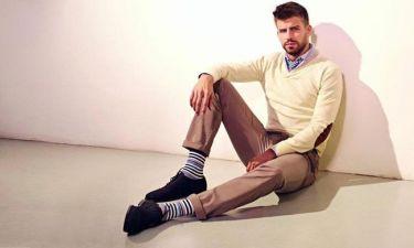 Gerard Pique: Φωτογράφηση για εταιρία ρούχων