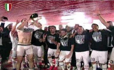 Το… ταβάνι «πλήρωσε» τους πανηγυρισμούς της Juventus