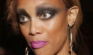 Η Tyra Banks και το λάθος μακιγιάζ!