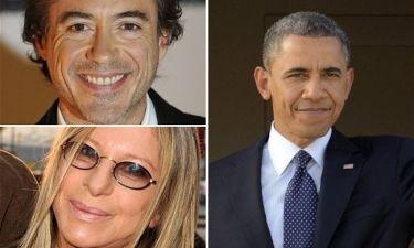 Δεκάδες σταρ στο σπίτι του George Clooney για το δείπνο του Obama