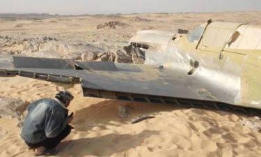 Βρετανικό αεροσκάφος του Β' Παγκοσμίου πολέμου εντοπίστηκε στην έρημο