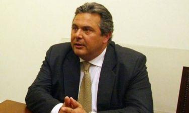 Διαψεύδει ο Καμμένος ότι θα προτείνει για πρωθυπουργό τον Αβραμόπουλο