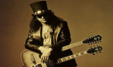 Ο κιθαρίστας των «Guns n' Roses» αποκαλύπτεται