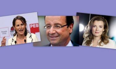 Φρανσουά Ολάντ:  Οι γυναίκες της ζωής του
