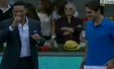 Roger Federer: Η συνάντηση με τον Will Smith και το… δώρο