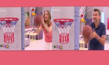 Το παιχνίδι μπάσκετ Λιάγκα-Αναστασίου στο «Πρωινό mou»